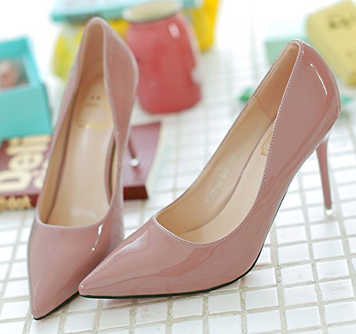 Pumps Nude High Elegant Women's Toe Shoes Heels Stiletto Aisun Court Pointed xqU0wHgHWR