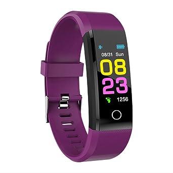 LYSRSM Smart Watch Men Women Heart Rate Monitor Blood Pressure ...