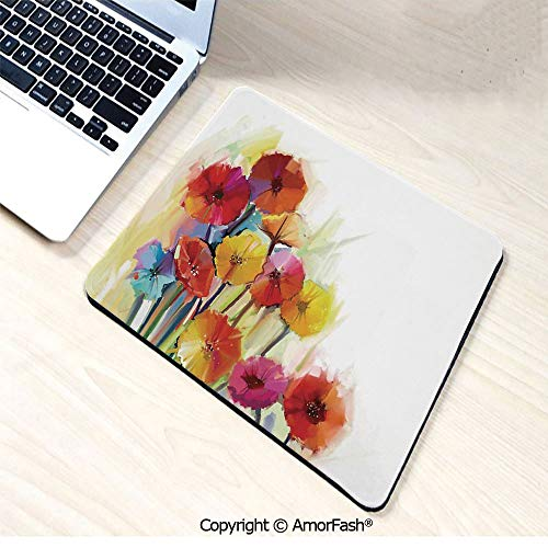 Thick Printed Art Mousepad - Rubber Mouse Pad,Computer,PC,Keyboard,8.3