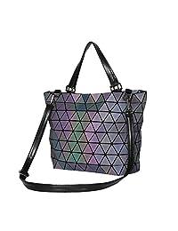 Bolsos para mujer, famosas marcas, bolso de bandolera, bolso bandolera, bolso de hombro, bolso de geometría láser, bolsas de piel sintética