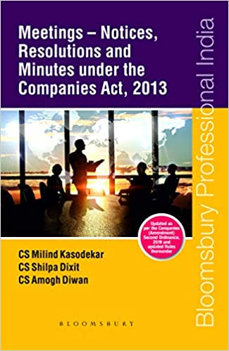 Meetings – Notices, Resolutions and Minutes Under the Companies Act, 2013