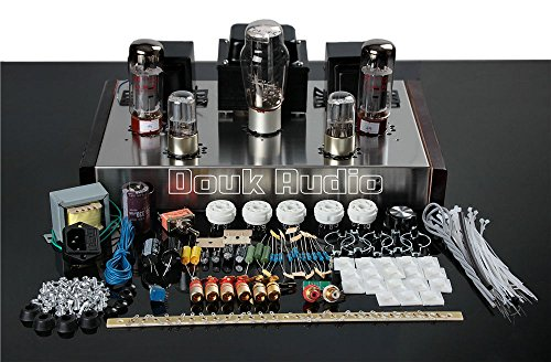 Nobsound EL34 Class A Single-ended Tube Amplifier Stereo HiFi Amp DIY Kit 1Set (Kit Stereo Preamplifier)