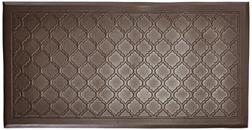Comfort Mate Backsplash Panels Kitchen Mat, 20-inch by 39-Inch, Chocolate