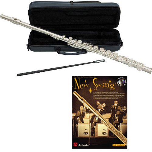 New Swing Flute Pack - Includes Flute w/Cse & Accessories & New Swing Play Along Book