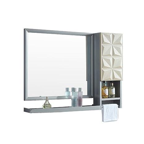 ZM-Bathroom mirror Armario Lateral de Espejo de Maquillaje ...