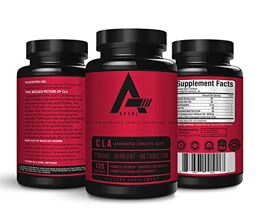 ARSNL Weight Loss CLA Supplement - 120 Softgels