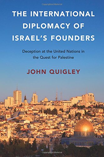 Book The International Diplomacy of Israels Founders