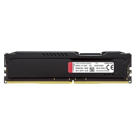 HyperX FURY - Memoria RAM de 8 GB (DDR4, 2666 MHz, CL16, DIMM XMP, HX426C16FB2/8) color negro