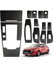 HG Accesorios Kit Sticker Panel Central y Puertas Mazda 3 2019 al 2021 Transmisión Automática