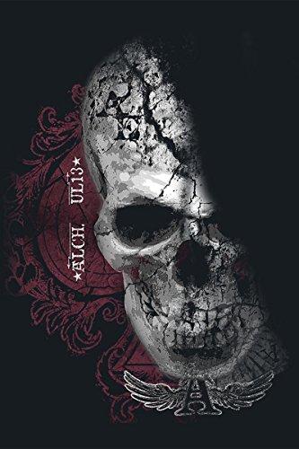 Alchemy England Devil Skull Pact Top Mujer Negro Negro