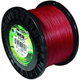 PowerPro Power Pro 21100100500V Braided Spectra Fiber Fishing Line, 10 Lb/500 yd, Vermilion Red