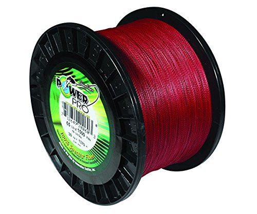 - PowerPro Power Pro 21100200100V Braided Spectra Fiber Fishing Line, 20 Lb/100 yd, Vermilion Red