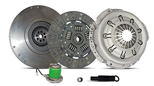 Clutch Kit Works With Ford Mustang Base Lujo Coupe Convertible 2005-2010 4.0L V6 GAS SOHC Naturally Aspirated