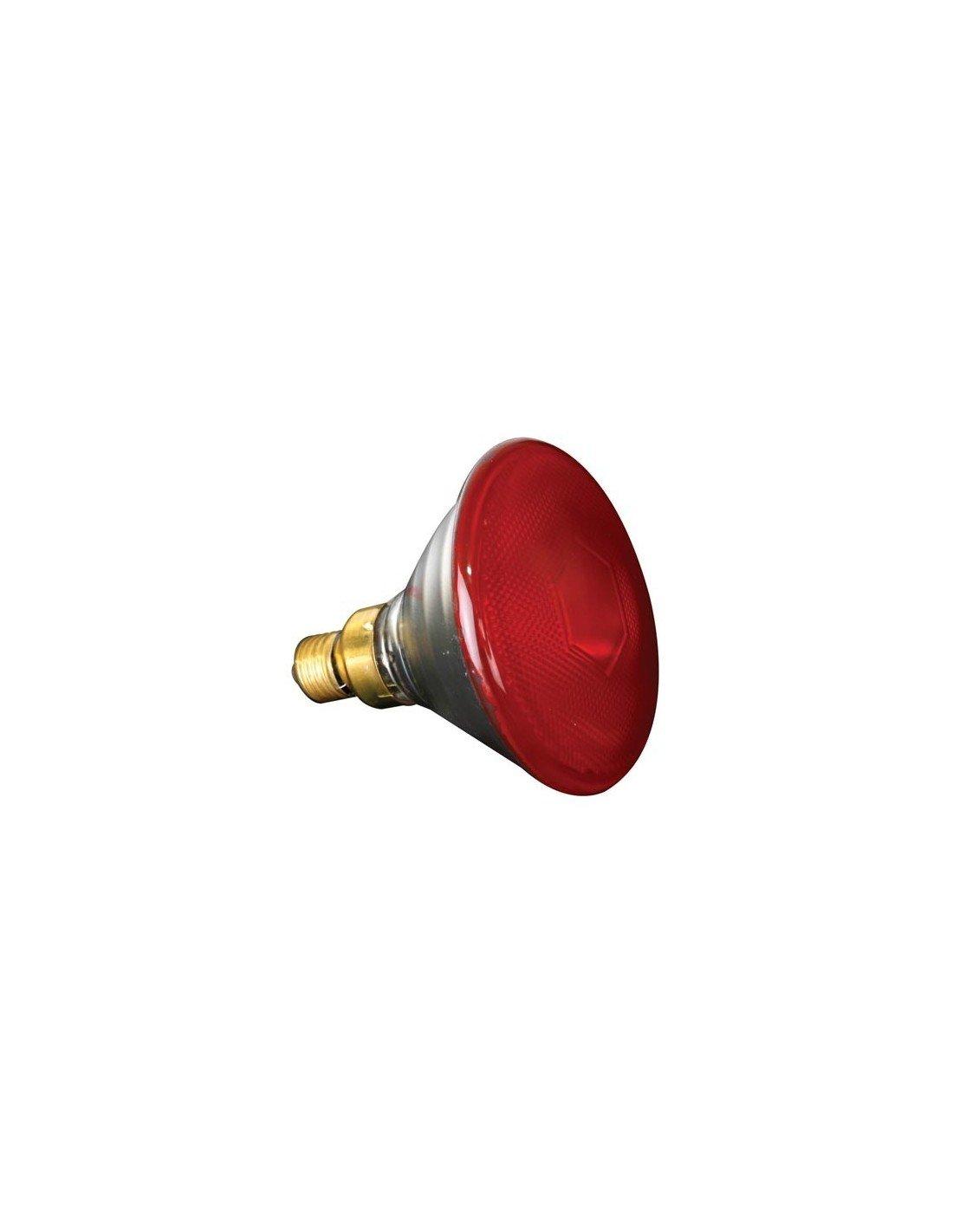 Sylvania 143956Ampoule halogène, 80W, 240V, E27PAR38, Fl à 30°, rouge 80W 240V E27PAR38 Fl à 30°