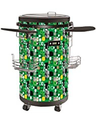 Single Zone Party Cooler Color: Green