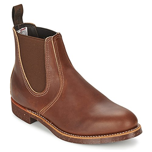 Red Wing 6 Inch Chelsea Rancher Mens Boot UK10 EU44 US11 Amber Harness