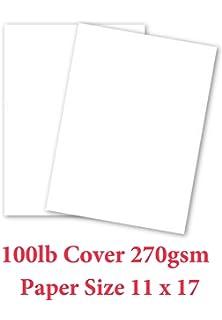 Amazon.com : Neenah Exact Index, 110 lb, 11 x 17 Inches, 250 ...