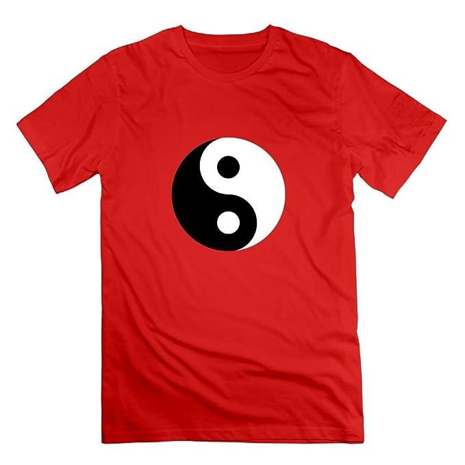 Amazon Womens Chinese Symbol Tai Chi Funny T Shirt Red Clothing