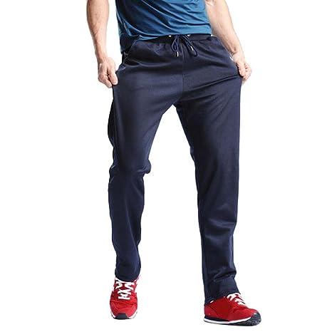 44203d8b2c86c Pantalones de hombre Moda Ocio Casual Corriendo Deporte Hip hop Trotar  Joggers Pantalones deportivos Pantalones Chandal