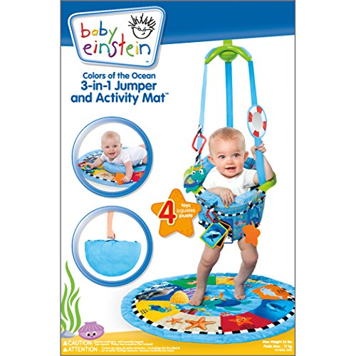 43cd019fd Amazon.com   Baby Einstein 3-in-1 Jumper and Activity Mat