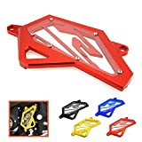 Heinmo Front Sprocket Chain Guard Cover Left Side Engine Protector for Yamaha R3 MT03 MT25 2015-2017,R3 ABS 2017,R25 2013-2017(Red)