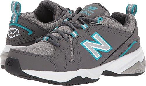 New Balance Women's WX608v4 Training Shoe, Grey, 12 B US by New Balance
