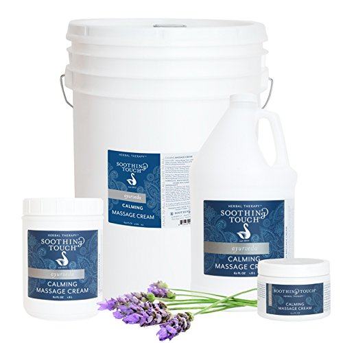 Soothing Touch Massage Cream Calming 5 Gal