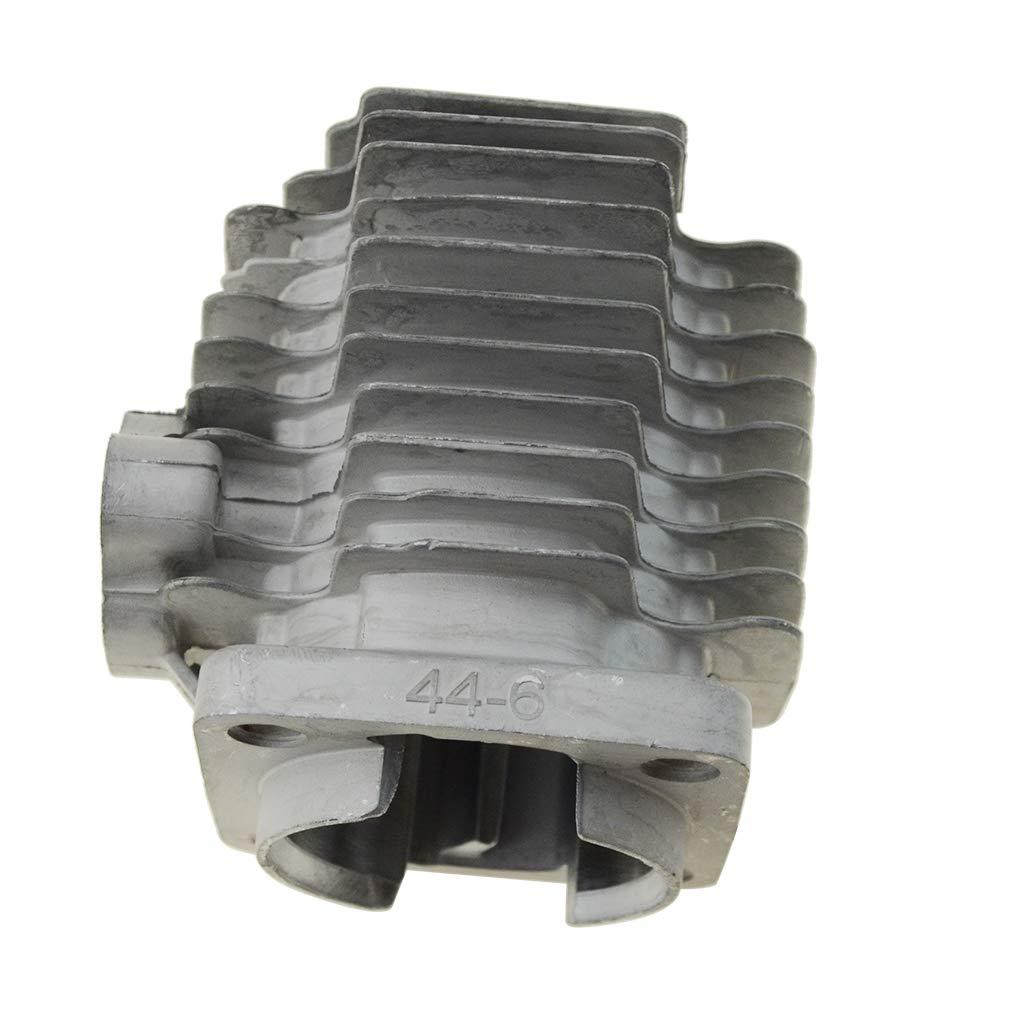 GOOFIT 44mm Bore Cylinder Body for 2 Stroke 47cc 49cc Scooter Mini Bike Pocket Bike K074-011