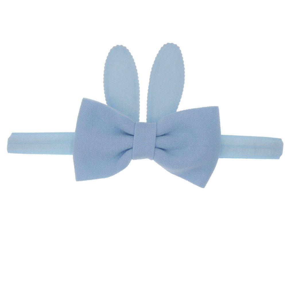 Baby Girls Rabbit Ear Elastic Hair Head Hairband Phtography Props Headband