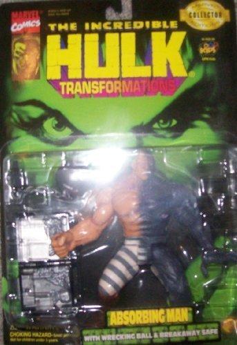 la red entera más baja Hulk, Transformations  Absorbing Man w  Wrecking Wrecking Wrecking Ball and Breakaway Safe by Juguete Biz  caliente