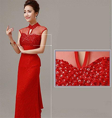 Schlauch Rot Drasawee Kleid Drasawee Damen Damen tpfWXqp
