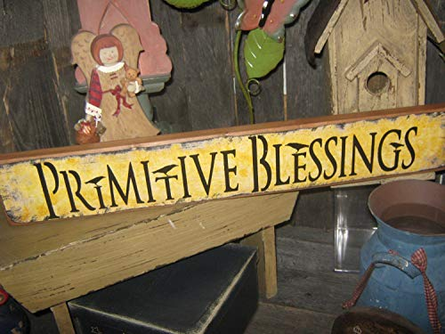 Adonis554Dan Primitive Wood Printed Religious Spiritual Wood Sign Primitive Blessings Love God Heaven Housewares Subway Wood Sign Jesus Bible (God Heavens Blessings)