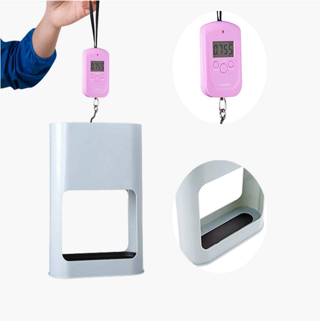 LLCC Porte-Parapluie Porte-Parapluie en Plastique Blanc Solide et Durable avec Une Forte capacit/é de Charge adapt/é /à Une vari/ét/é de lieux.