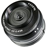 Yasuhara MO100E 28-28mm f/6.4-22 Fixed Prime MoMo 100 Soft Focus Lens for Sony NEX, Black