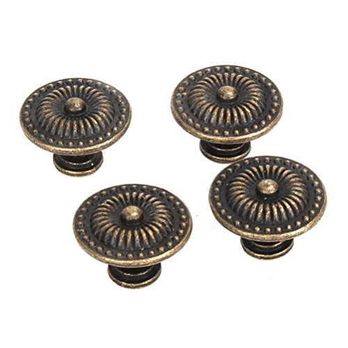 tinksky cabinet drawer cupboard pull handle knob pack of 4