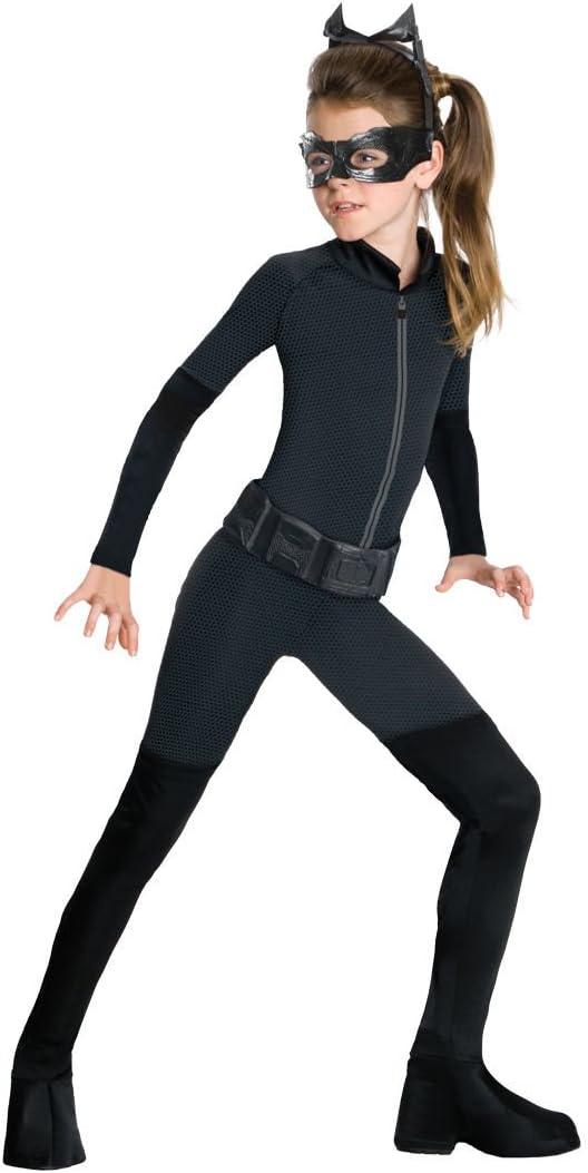Batman - Disfraz Catwoman para niña M (5-7 años): Amazon.es ...