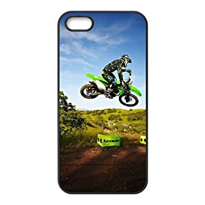 iPhone 5 5s Cell Phone Case Black Motocross YR109691