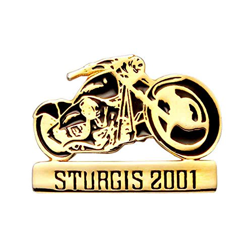 Frame Fender (2001 Sturgis Rally Pin with Black Enamel Tank Fenders and)