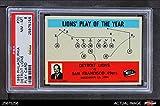 1965 Philadelphia # 70 Detroit Lions Harry Gilmer Detroit Lions (Football Card) PSA 8 - NM/MT Lions