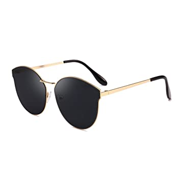 cac540482b Culater® Women Men Vintage Round Shape Sunglasses Outdoor Eyewear Glasses  For Driving Holiday Traveling (B)  Amazon.co.uk  Beauty