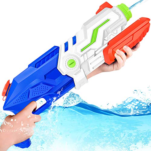 GotechoD Water Guns for Kids Adults Super Soaker Water Blaster 1100CC High Capacity Squirt Gun...