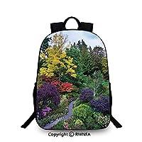 Travel waterproof schoolbag - Butchart Gardens