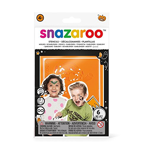 Snazaroo Face Paint Stencils: Halloween -