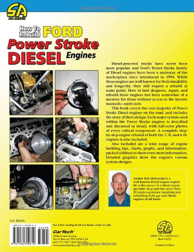 How to rebuild ford power stroke diesel engines 1994 2007 workbench how to rebuild ford power stroke diesel engines 1994 2007 workbench how to bob mcdonald 9781934709610 amazon books fandeluxe Image collections
