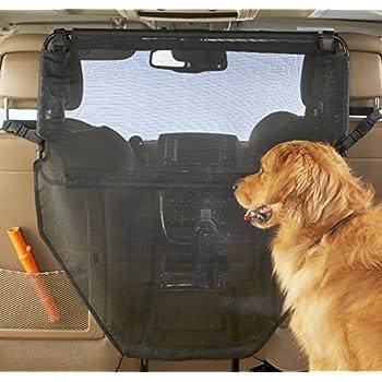Fine Dog Car Screen,Car Pet Carrier Anti-Collision Adjustable Mesh Net Barrier Auto Barrier Safety Isolation Net Organizer Auto Backseat Storage Prevent Disturb