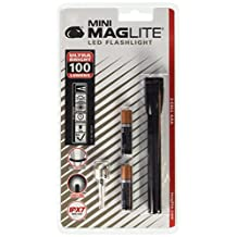 Maglite LED 2AAA Mini Flashlight, Black