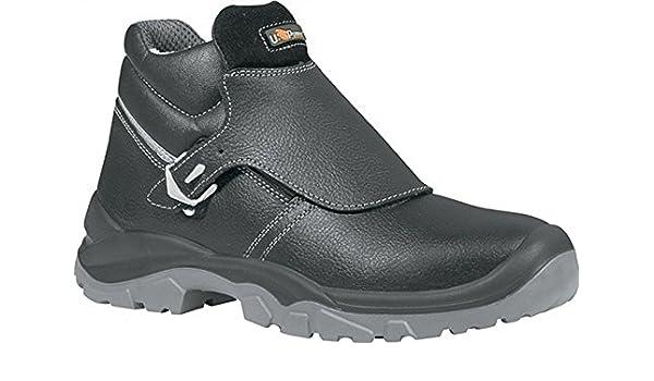Bboplus-botas de soldador EN 20345 S3 SRC Crocodile Gr, 38 de piel colour negro: Amazon.es: Electrónica