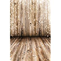 SJOLOON 10x15ft Photography Backdrop Nostalgia Backdrops for Photography Wood Floor Wall Background for Photographyers