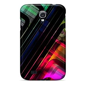 New Snap-on Saraumes Skin Case Cover Compatible With Galaxy S4- Abstract