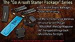 "Evike Go Airsoft Starter Package Avengers BAMF M4 Lipo Ready Airsoft AEG Rifle (Model: M4 RIS 8"" Stubby/Black)"